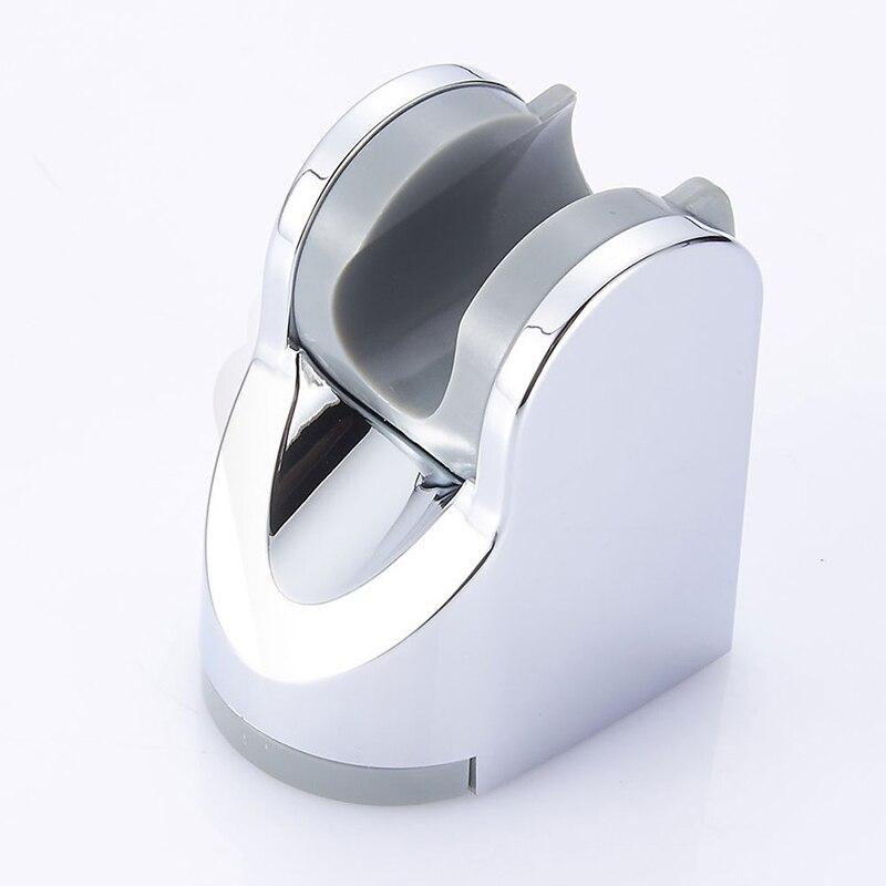 Cuarto de baño ducha de baño inodoro soporte para boquilla soporte ajustable práctica de baño blanco Accesorios