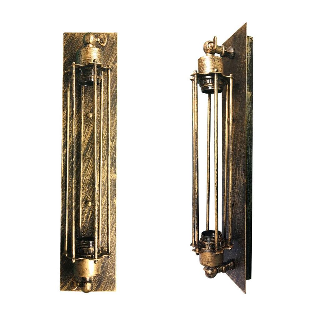 De cordero con tungsteno bombilla Edison E27 lámpara de pared industrial interior lámpara de pared Retro Led W-filamento de luz LED interior