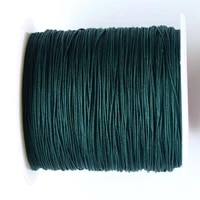 0 4mm jungle rattail braid green cord 400mrolljewelry findings accessories macrame rope bracelet wire beading cords