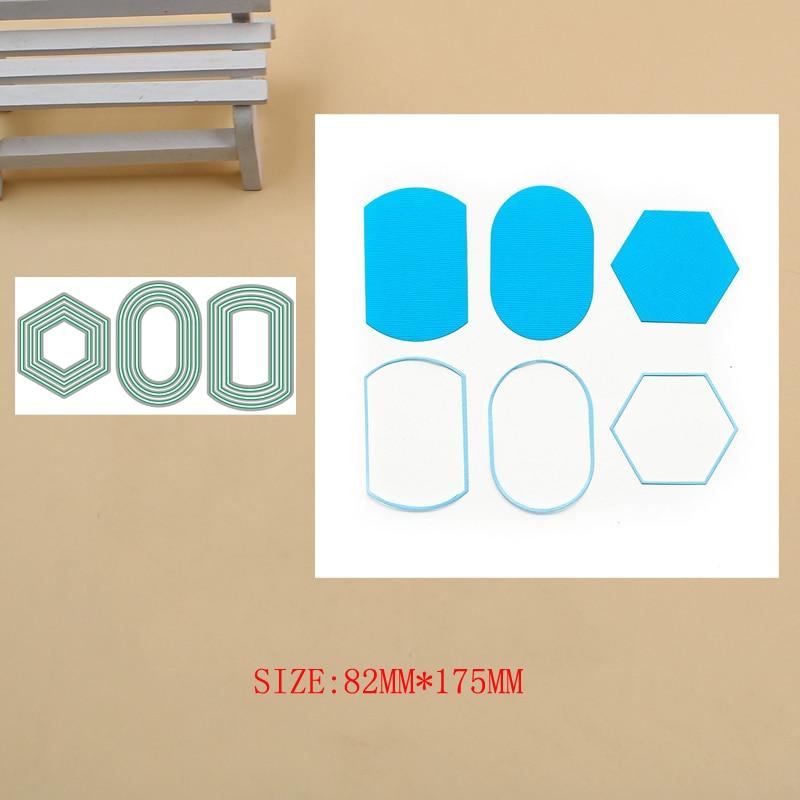 Marcos básicos de etiquetas, troqueles de corte de Metal, troqueles para álbum de recortes, nuevos troqueles de 2019, plantillas de grabado, fabricación de tarjetas de papel