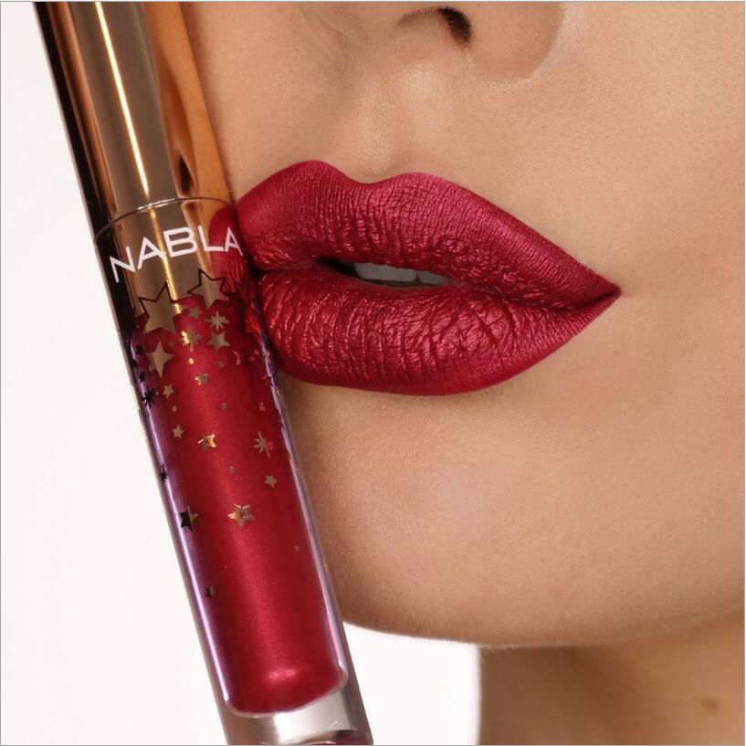 10 Color Hot Selling NABLA Starlight Matte Lipstick Long Lasting Labial Mate Makeup Lip Stick Beauty Make Up Batons