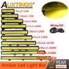 Auxtings – feu antibrouillard jaune pour voiture Jeep camion SUV 20 pouces 126W 12
