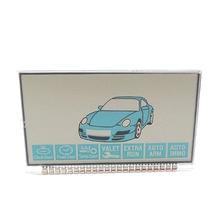 Affichage lcd B9 version russe   Pour Starline B9 lcd à distance, système dalarme de voiture à deux voies