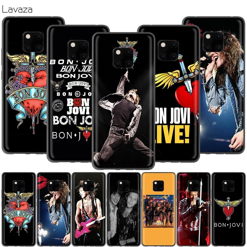 Lavaza Jon Bon Jovi para Huawei P30 P20 P10 P9 P8 amigo 20 10 Pro Lite P Smart 2017