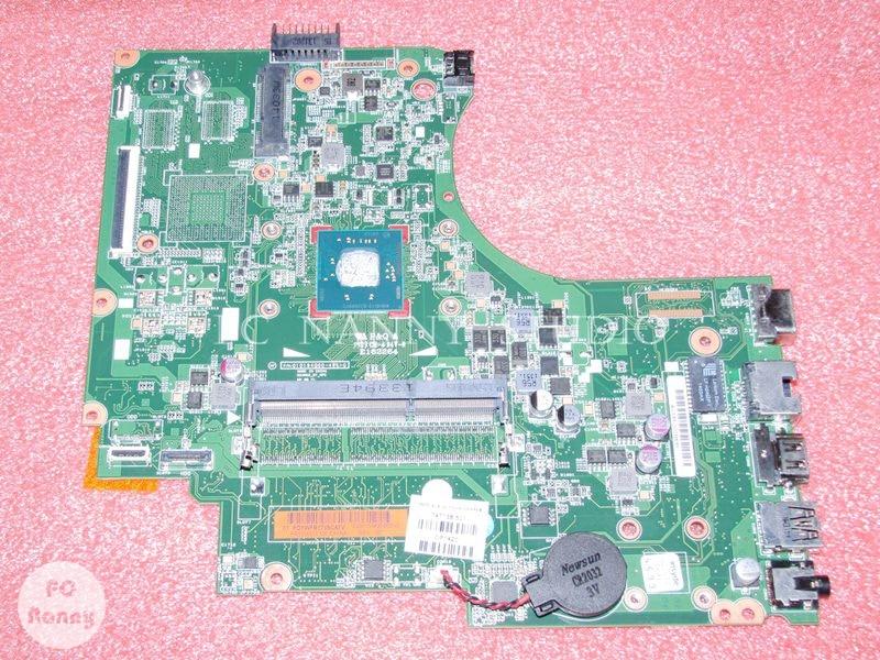 Pcnanny 747138-501 747138-001 placa-mãe do portátil para hp 15-d hp 250 g2 255 placa principal com n3510 2.0 ghz cpu funciona