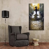 quadro caudros hand painted canvas oil painting abstract figure painting wall art portrait pictures for living room home decor