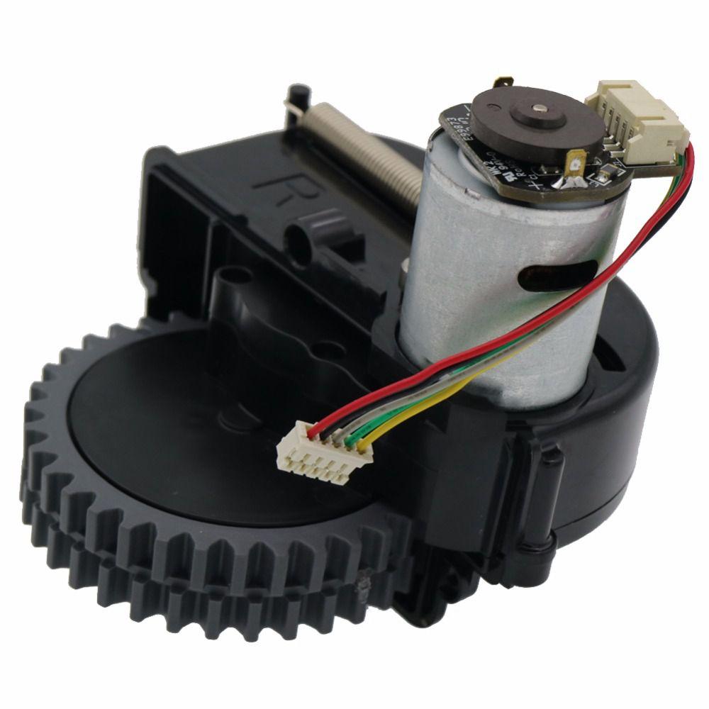 ¡Superventas! piezas de Robot aspirador de rueda derecha Accesorios Para Ilife V3s Pro V5s Pro V50 V55 Robot aspiradora ruedas motores