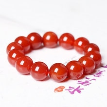 Fashion Natural Red Onyx Stone Bracelets & Bangle for Women and Men Bracelets Handwork Beads Bracelets Accessories Wholesale