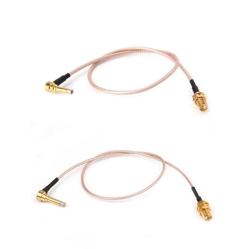 OOTDTY MS156 enchufe macho a SMA hembra sonda de prueba RG178 RG316 cables 35cm
