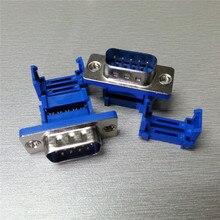 DIDC9 DB9 connecteur port série mâle   5 pièces, connecteur IDC Type d-sub RS232 COM, connecteurs 9pin fiche 9p, adaptateur pour fil de ruban