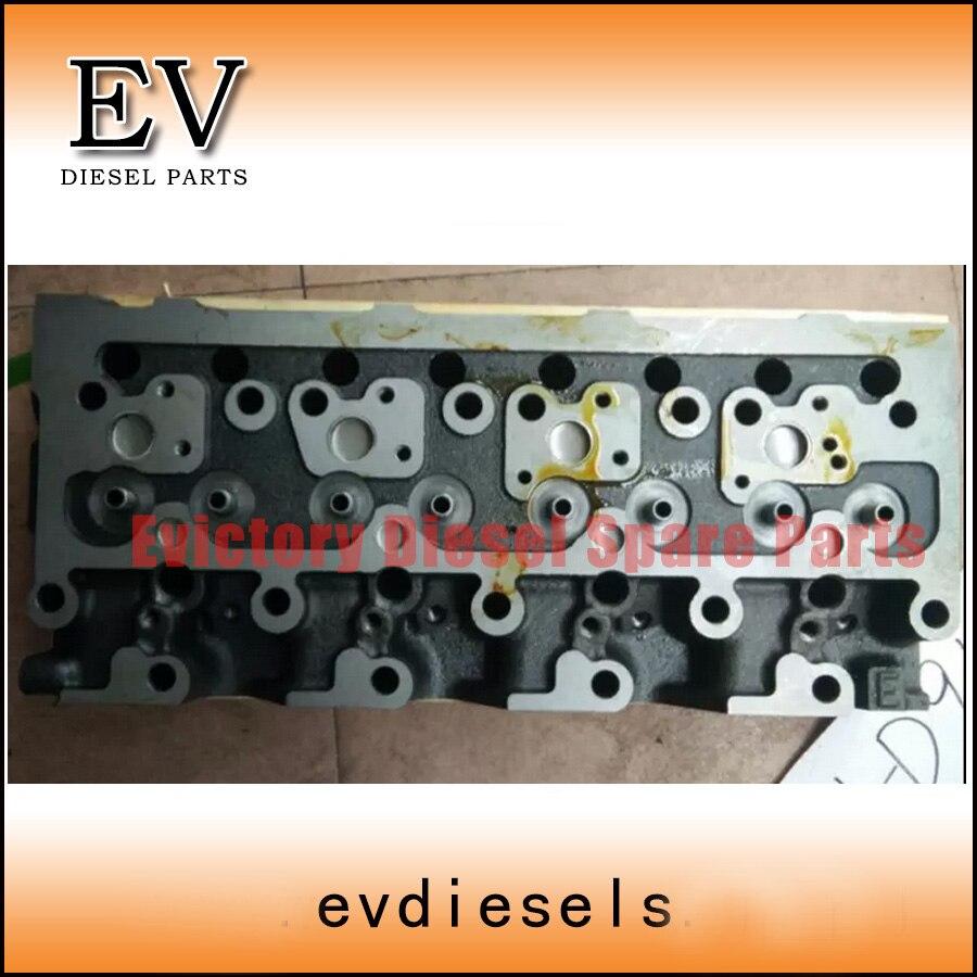 Para Komatsu Motor de excavadora rebuild 4D95 S4D95 4D95L culata de cilindro