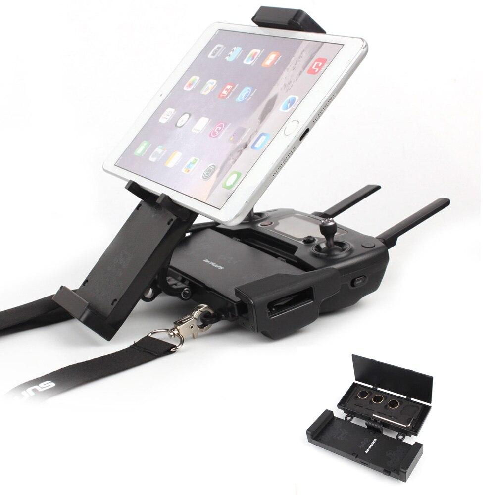 4,7-12,9 pulgadas Smartphone Tablet soporte plegable para DJI SPARK / MAVIC 2 / PRO / AIR RC Drone control remoto