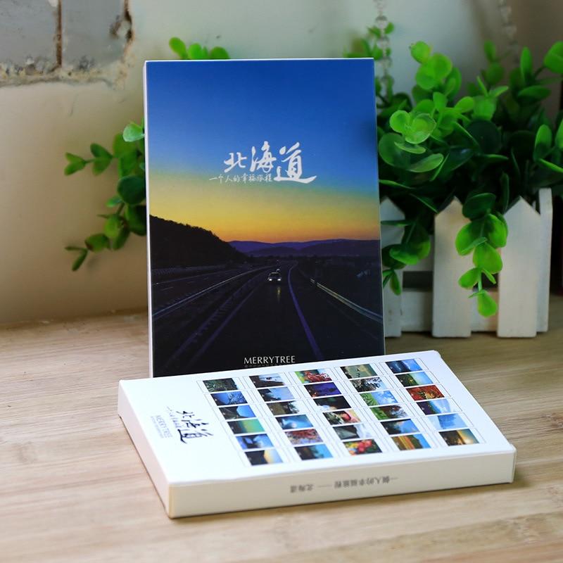 30sheets/LOT Take a trip to Hokkaido  postcard /Greeting Card/wish Card/Fashion Gift