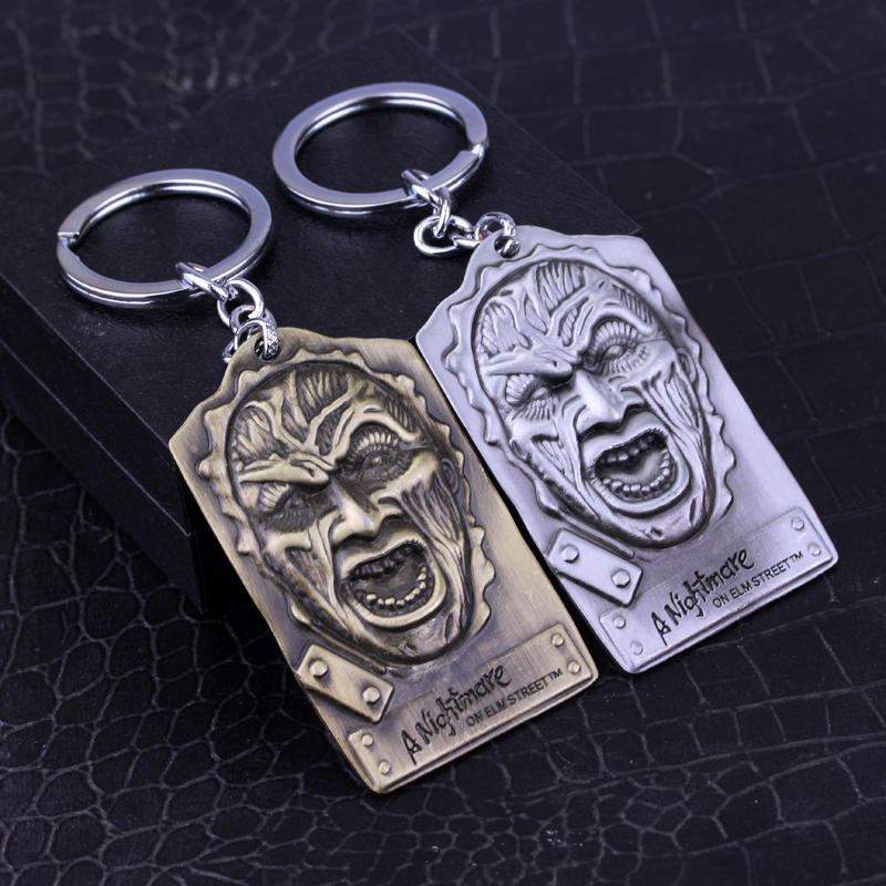 MQCHUN Nova Chegada A Nightmare on Elm Street Freddy Pesadelo Freddy Jason Keychain Assassino Keyring-50