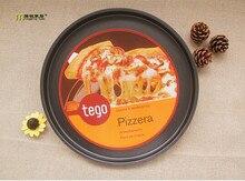 1pc 14 pulgadas Pizza plato herramientas para hornear bandeja de horno pizza de hogar horno de microondas uso no-pizza pan plato JC 0506