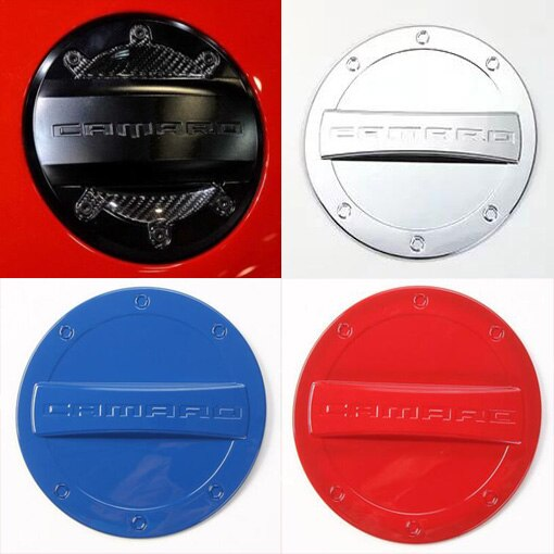 ¡Novedad! Tapa de tanque de combustible para Exterior, tapa de Gas, accesorios ABS para Chevrolet Camaro 2016, envío gratis