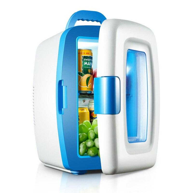 Mini réfrigérateur Portable Heladera 10L réfrigérateur à bord, Mini réfrigérateur à deux usage à domicile, congélateur domestique, chauffage froid