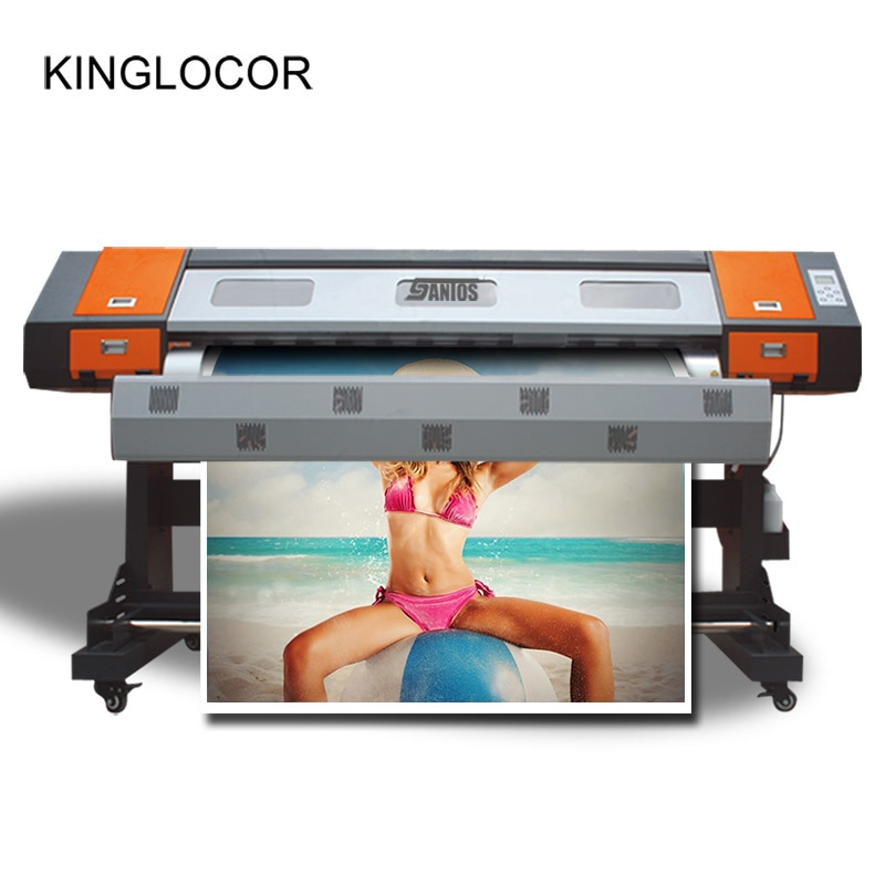 2,2 m 85 pulgadas 7,2 pies impresora de tinta automática 5113 pequeña máquina de impresión de Banner