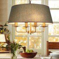 Lamba Modern Pendant Light Iron Abajur Avize Luminaria lamparas Hangling Lamp Fabric Iron Home Lighting Fixture Deco Cheap