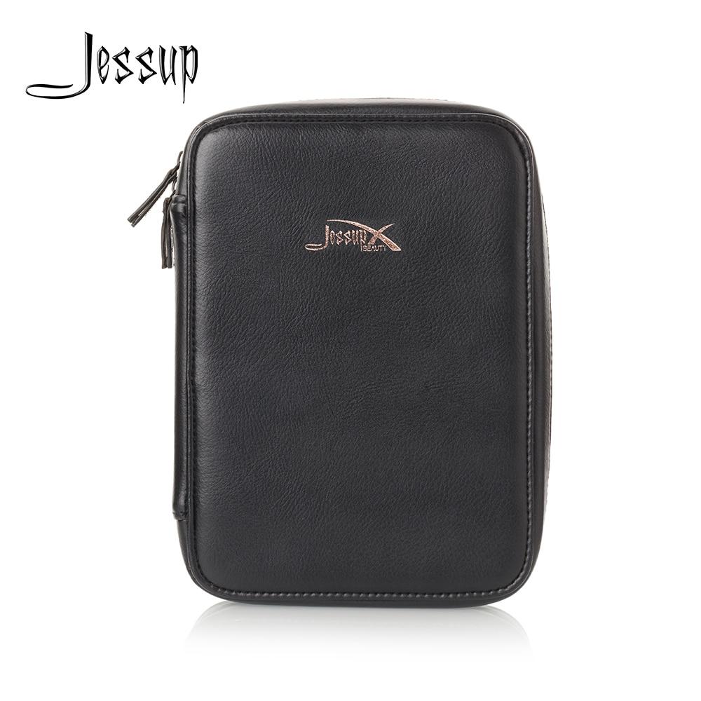 Jessup Beauty Brand Royal Blue & Black Cosmetics Bag Women Bag Travel Makeup Case CB005 25.5*4.5*18cm