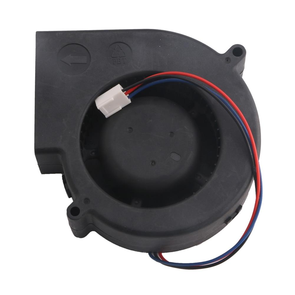 Вентилятор для охлаждения турбин, 12 В, бесщеточный, 3-контактный, 4500 об/мин, 97x94x33 мм, PBT