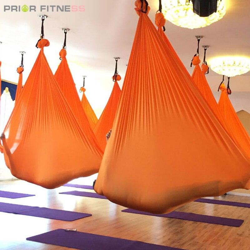 Elástico 6 metros 2020 hamaca aérea para Yoga Swing última multifunción Anti gravedad cinturón de Yoga para entrenamiento de yoga Yoga para deporte