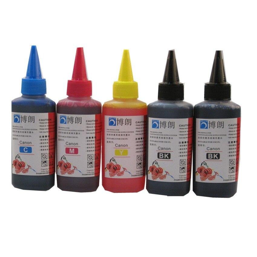 500ml de tinta Corante refil para PGI-570 570 571 ciss cartucho de tinta para CANON PIXMA TS6050 TS6051 TS6052 TS5050 TS5051 TS5052 T5053