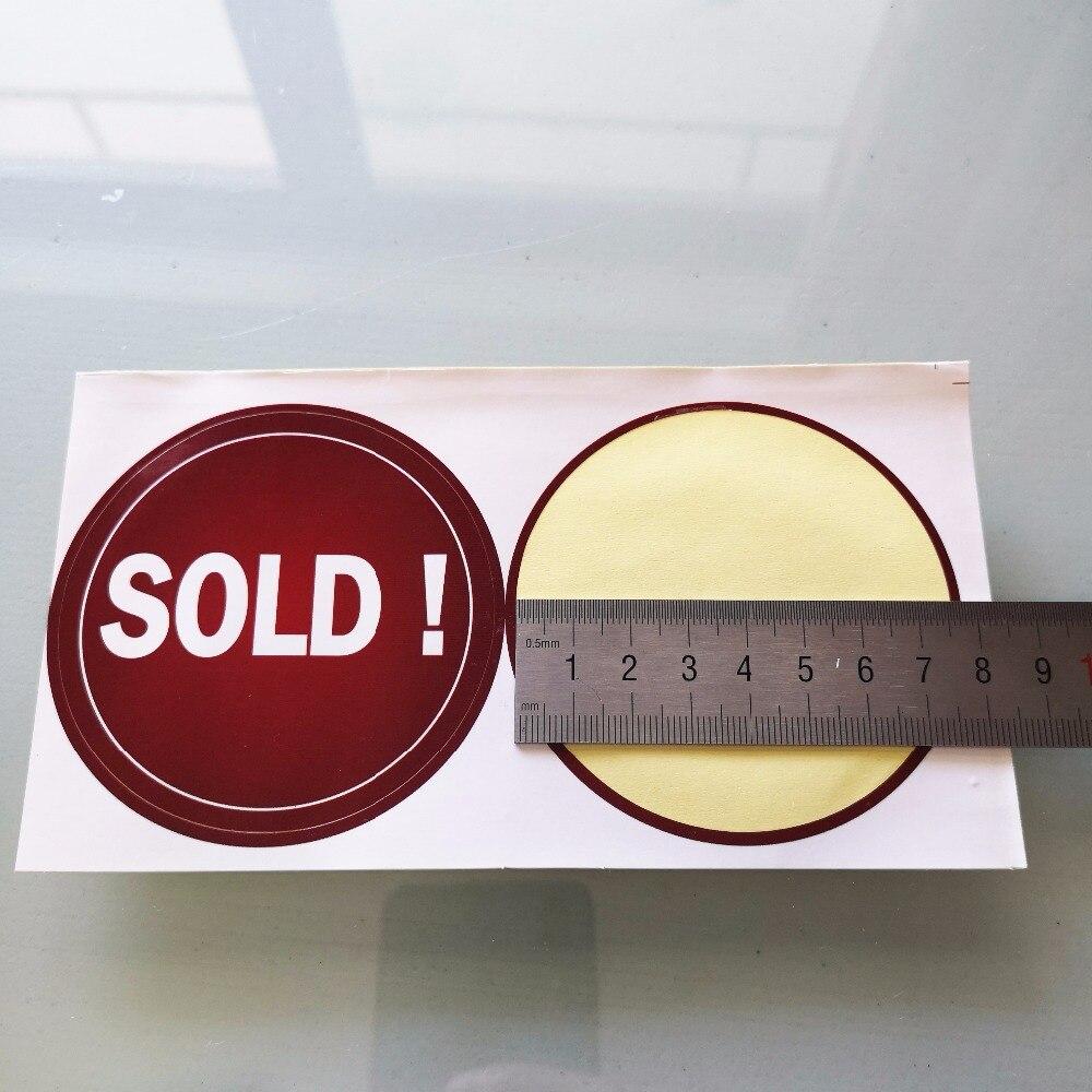 1000 pcs/lot, 76mm SOLD! Store promotion label sticker,  Item No. PD06