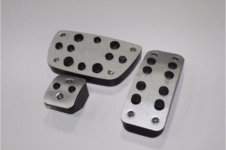 TTCR-II, accesorios para coche, pedal de freno de gas Acelerador de aleación de aluminio para Lexus NX200 AT, placa de pedal antideslizante, almohadillas adhesivas para coche