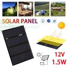 Środowiskowe wielokrotnego użytku 1.5W 12V ogniwa słoneczne ulepszanie domu sprzęt do ładowania paneli słonecznych polikrzem na zewnątrz