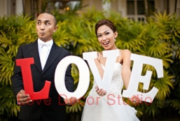 Wedding Love Sign ,  Wedding Decoration Prop White Love sign wedding decoration letters