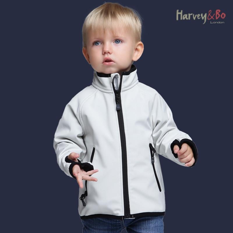 Детские куртки, флисовая водонепроницаемая куртка для маленьких мальчиков и девочек на весну и осень