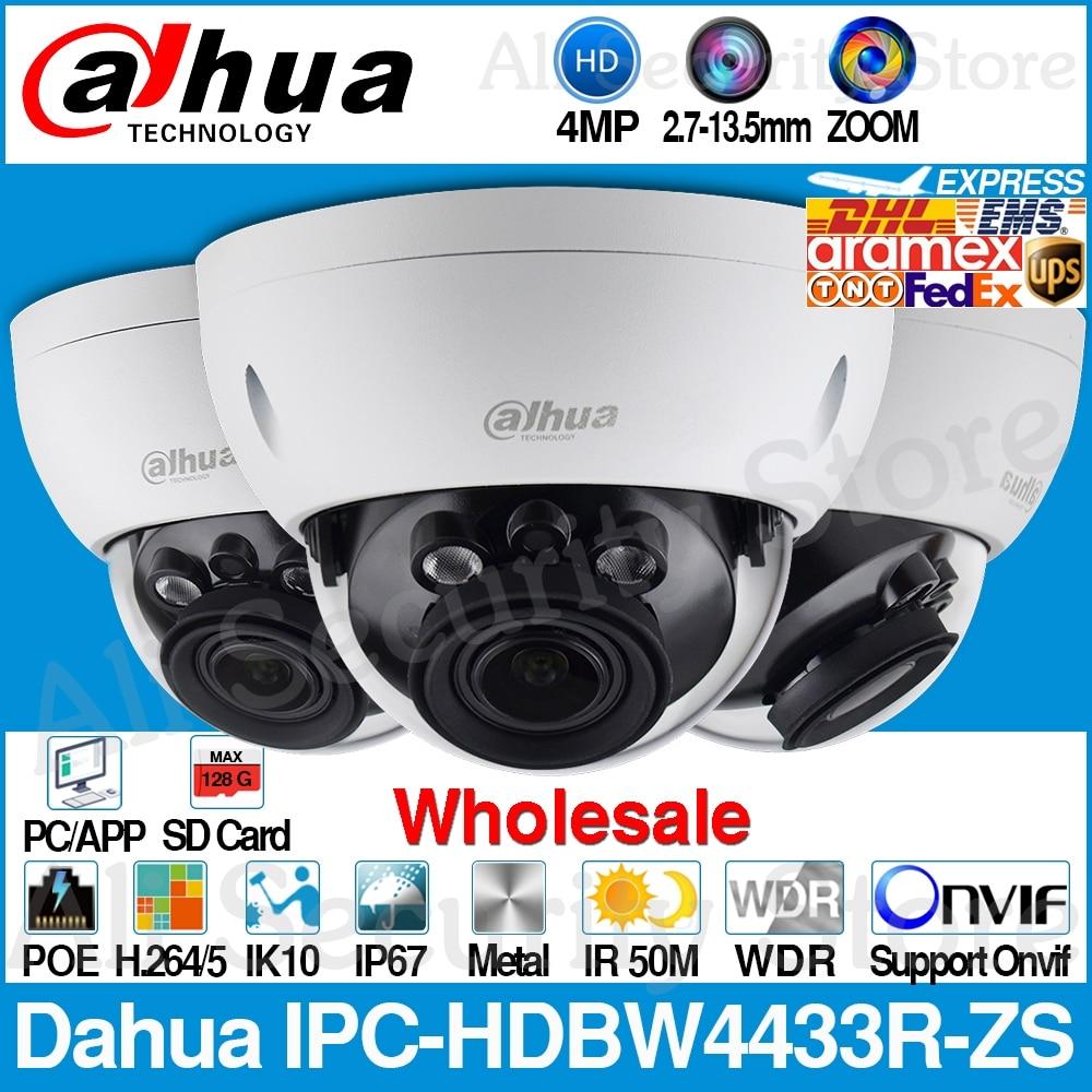 داهوا بالجملة IPC-HDBW4433R-ZS 4MP IP كاميرا CCTV مع 50 متر IR المدى Vari-عدسات تركيز كاميرا شبكة مراقبة استبدال IPC-HDBW4431R-ZS