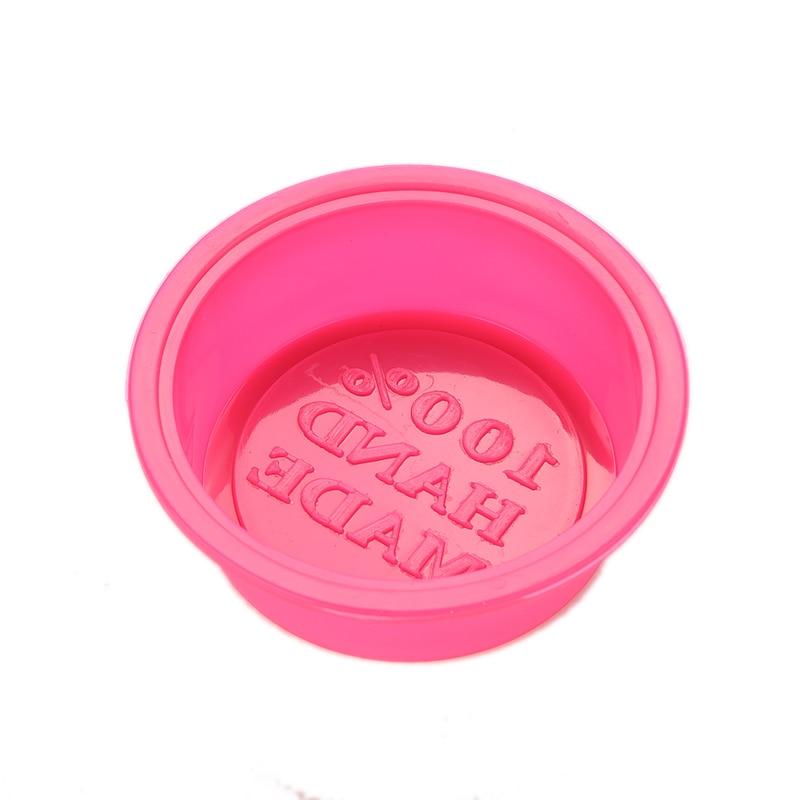 ZLinKJ u hoMEy DIY Симпатичные ремесленные изделия круглой формы силиконовая печь мыло