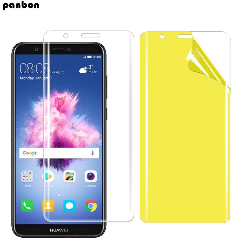 TPU macio nano Filme Para Huawei P9 Hidrogel P8 P10 P 10 lite Protetor De Tela Para Huawei P20 Lite Pro protetor Filme