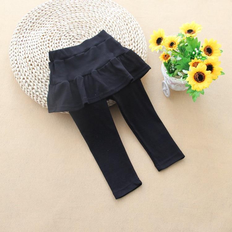 Autumn and Winter Girls Leggings Baby Kids Cotton Skirt Leggings Children Matching Pants Clothes Girls Ruffle Pants