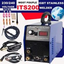 Tosense ITS200 onduleur TIG/MMA ARC 2in1 Machine à souder 110/220V perruque soudeuse Machine offre spéciale
