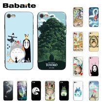 Babaite Totoro en espíritu Ghibli Anime teléfono caso para iphone 11 Pro 11Pro Max 6S 6 más 7 7plus 8 8 plus X Xs X MAX 5 5S XR
