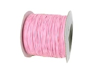 pink colorfast polyester wax cord0 5mm korea waxed threaddiy jewelry bracelet necklace wire string accessories200ydsroll