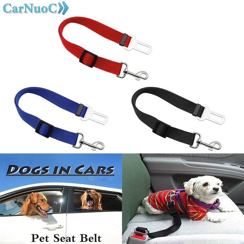 Universal Auto Assento de Veículo Carro Cinto de Segurança Cinto De Segurança cat Dog pet Ajustável Chicote Leva para bmw audi ford hyundai Carro acessórios