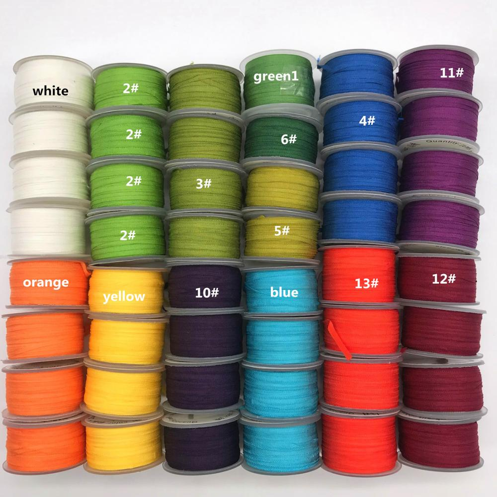 10 jardas/rolo, 2mm, 4mm, 7mm, 13mm, 100% fitas de seda pura real do tafetá para o projeto do bordado e do artesanato, embalagem do presente