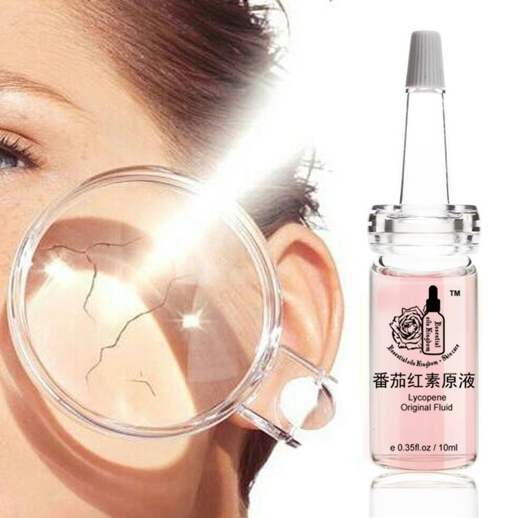 Lycopene Original Fluid UV Resistant Anti-wrinkle Freckle Removing Hyaluronic Acid Moisturizing Freckle Anti Aging 10ml*2pcs