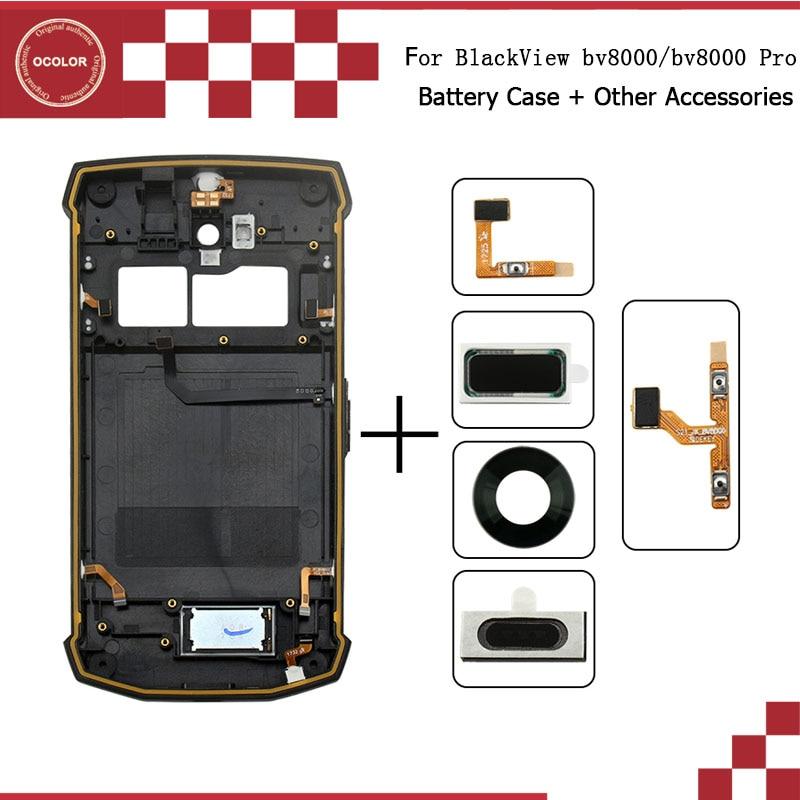 Ocolor Für BlackView bv8000 bv8000 pro Batterie Fall Mit Kamera Objektiv hörer Lautsprecher Taste Flex Kabel Volumen Flex Kabel