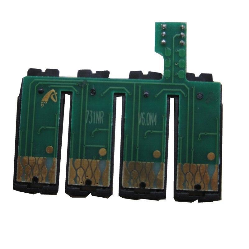 Постоянный чип T0731N СНПЧ для EPSON StylusTX111 TX200 TX210 TX209 TX213 TX220 TX400 TX409 TX410 TX300F TX550W TX510FN TX600FW