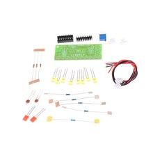 ¡Oferta! 1 Uds. Kit DIY electrónico LM3915 indicador de nivel de Audio DIY Kit de producción electrónica Suite conector de Color al azar