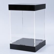 Acrylic Display Box  Seamless High Transparency Acrylic Model Display Box Garage Kit Dust-proof Box length X width X height