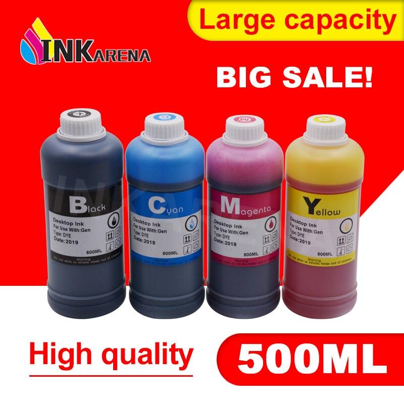 500ml Flasche Drucker Tinte Dye Refill-Kit Für HP 122 XL Deskjet 1000 1050 2000 2050s 3000 3050A 3052A 3054 1010 1510 2540