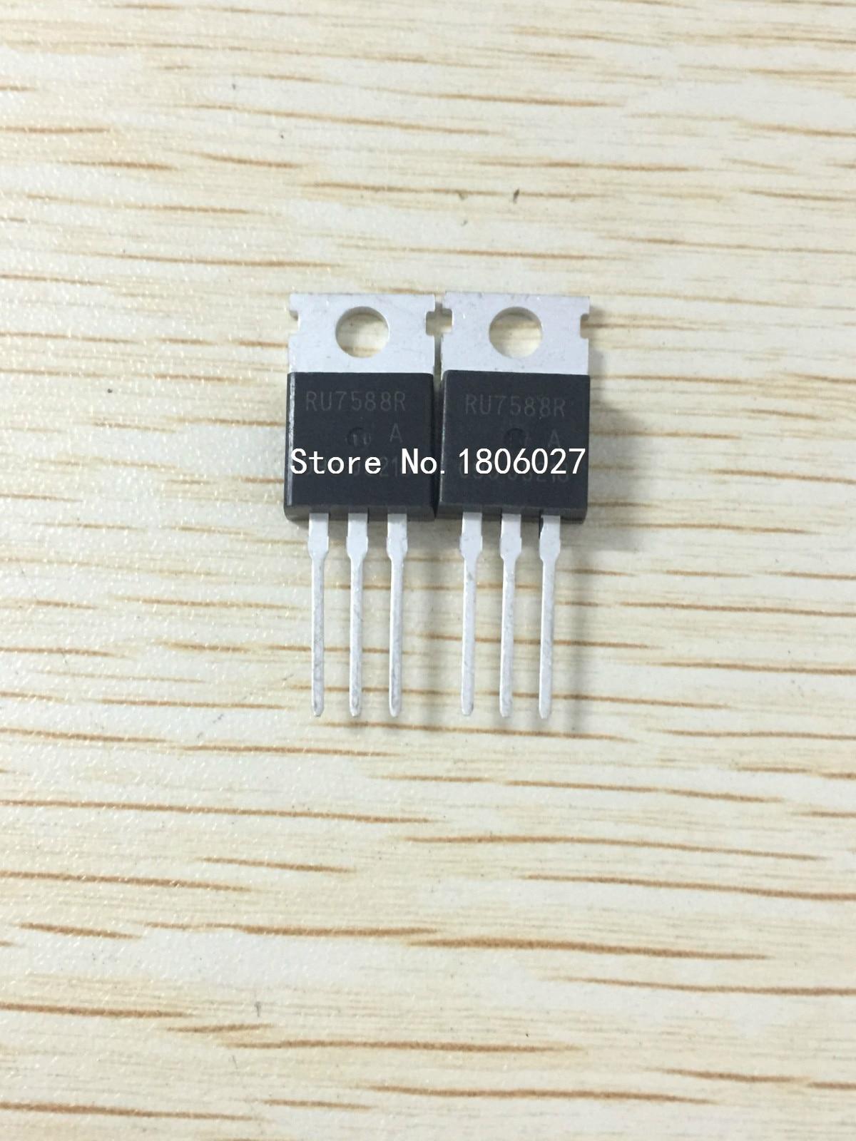 Enviar livre 20 piezas RU7588R-220 75 V 80A Novo local original vendendo circuitos integrados