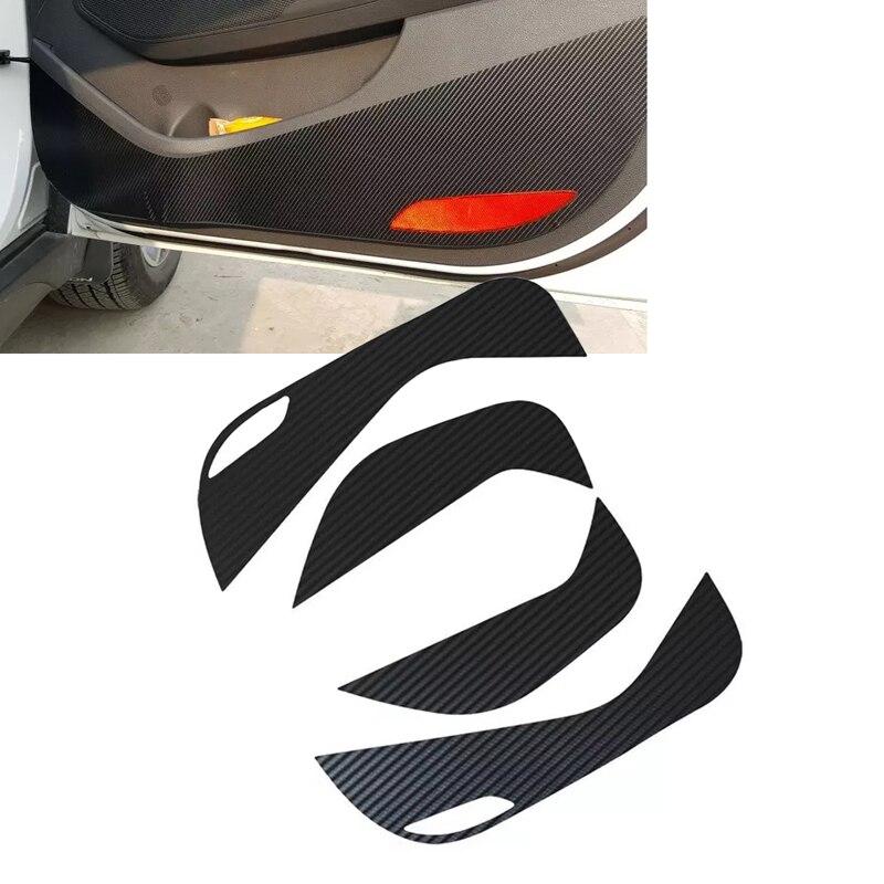 JEAZEA Защитная пленка для внутренней двери из углеродного волокна для Hyundai Tucson (TL) 2015 2016 2017 2018 2019 2020