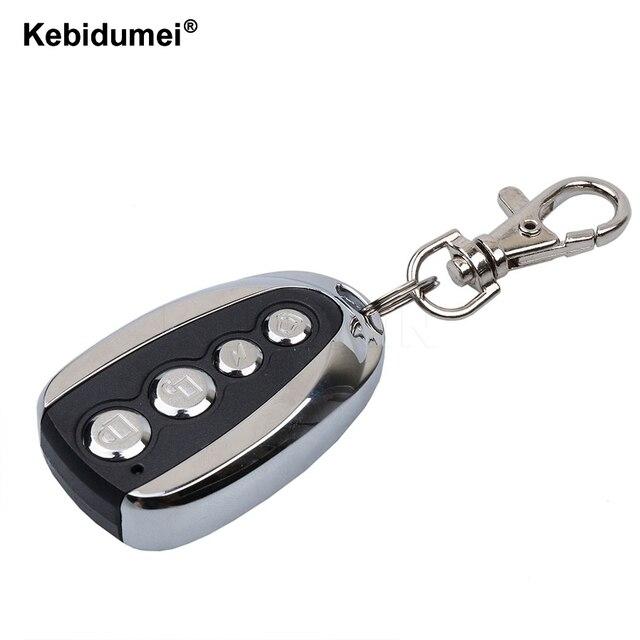 Kebidumei 433 МГц Портативный дистанционного Управление; Электрическое клонирование брелок для ключей автомобиля ворота передатчик